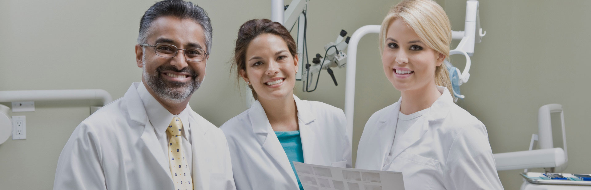 Dentists Smiling