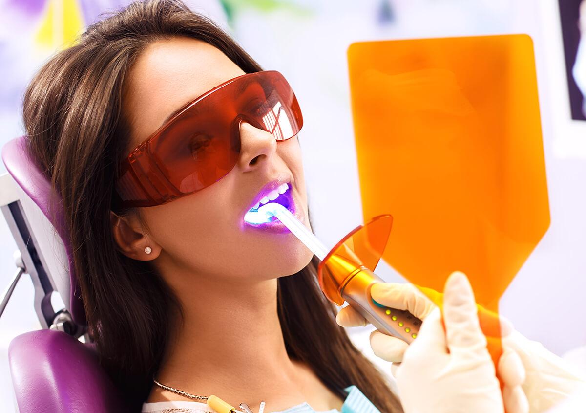 Laser dental care restores and enhances smiles